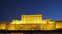 Night view - Palace of the Parliament (Casa Poporului)