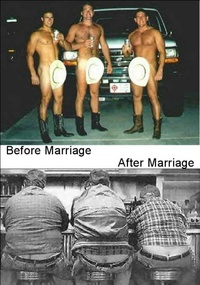 What Marriage Does to a Man