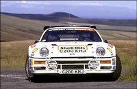 Kalle Grundel - Ford RS 200 - Circuit of Ireland 1986