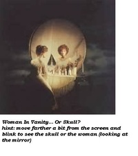 Woman-or-skull
