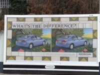 Honda Civic Billboard - What is the difference?