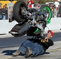 Wheelie Gone Bad!