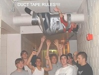 Duck Taped!
