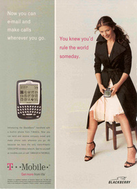 Catherine Zeta-Jones - Blackberry T-Mobile