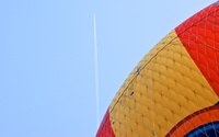 Airplane vs. Balloon above Disneyland Paris