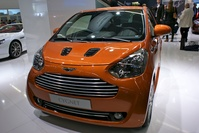 Aston Martin at IAA Frankfurt 2011