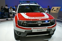 Dacia at IAA Frankfurt 2011