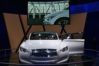 Infiniti at IAA Frankfurt 2011
