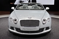 Bentley at IAA Frankfurt 2011