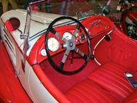 1938 BMW 319 Roadster - interior