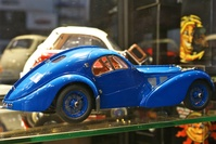 A Blue Roadster toy