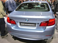 BMW ActiveHybrid 5 - rear view