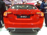 Volvo S60 - rear view