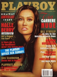 2003 - Playboy magazine cover of January