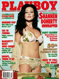 2003 - Playboy magazine cover of December