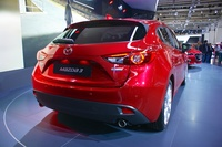 Mazda 3 2014 3rd generation  - hatchback rear view