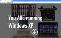 You ARE running Windows XP!