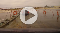 How crossing a floating bridge in Russia can go wrong