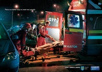 Smurd Romania - Don't Drink and Drive! - There are better ways to meet new people