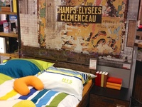 Who doesn't want to have his bedroom like Champs-Elysees Clemenceau metro station?