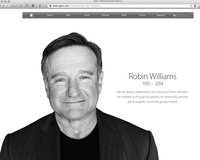 Robin Williams 1951 -2014 - Apple.com