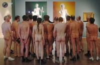 Nude Gathering at Nude Art Museum