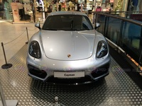 2015 Porsche Cayman GTS - frontal view