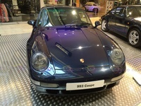 1996 Porsche Carrera 4S 993 Coupe - frontal view