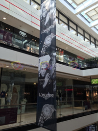 2015 - Longines Banner wih Kate Winslet, Prague, Czech Republic