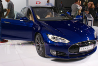 Tesla at IAA Frankfurt 2015
