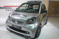 2016 Smart Brabus Safety Car - Frontal View