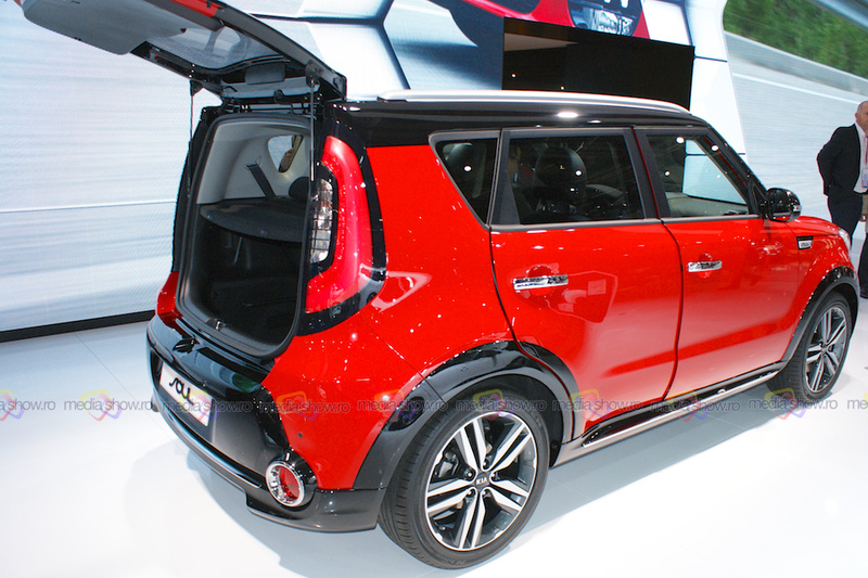 2016 Kia Soul - Side View