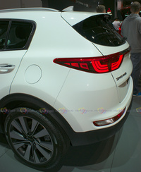 2016 Kia Sportage - Rear Side View
