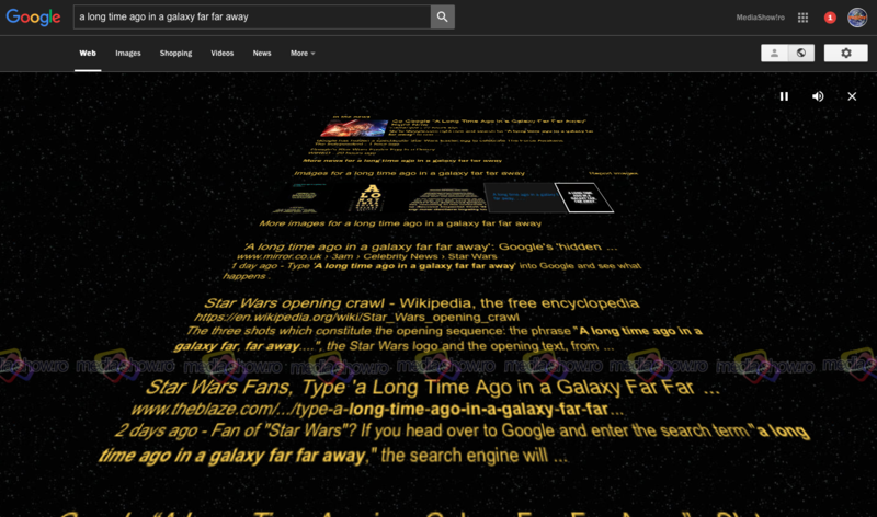 Google and Star Wars - A Long Time Ago in a Galaxy Far Far Away