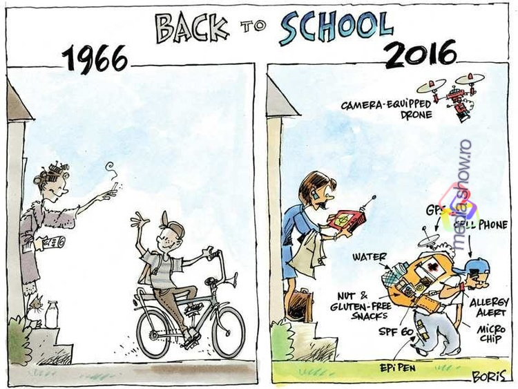 Back to School - 1966 vs. 2016
