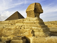 The Sphinx, Giza Near Cairo, Egypt