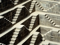 Detail of Chand Baori
