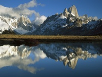 Cerro Torre and Fitzroy at Dawn