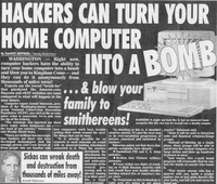 Hackers Can Turn Your Home Computer Into A Bomb!!
