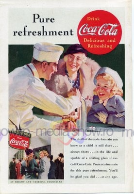 1930s - Pure Refreshment Coca-Cola