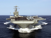 Aircraft carriers USS Harry S Truman