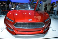 Ford Evos Concept Front