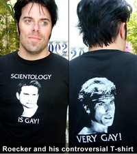 scientology is gay - t-shirt